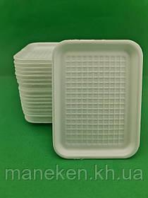Підкладка (лотки) зі спіненого полістиролу (178*133*10) T-410 (400 шт)