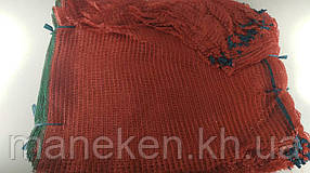 Мешок  овощная сетка (р42х63) 25кг красная (100 шт)