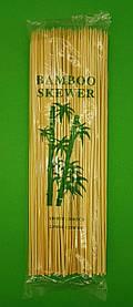 Палочки бамбуковые для шашлыка (200шт) 25см 2.5mm (1 пач)