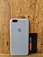 Чехол для iphone 6/6s silicone case лаванда lavander gray