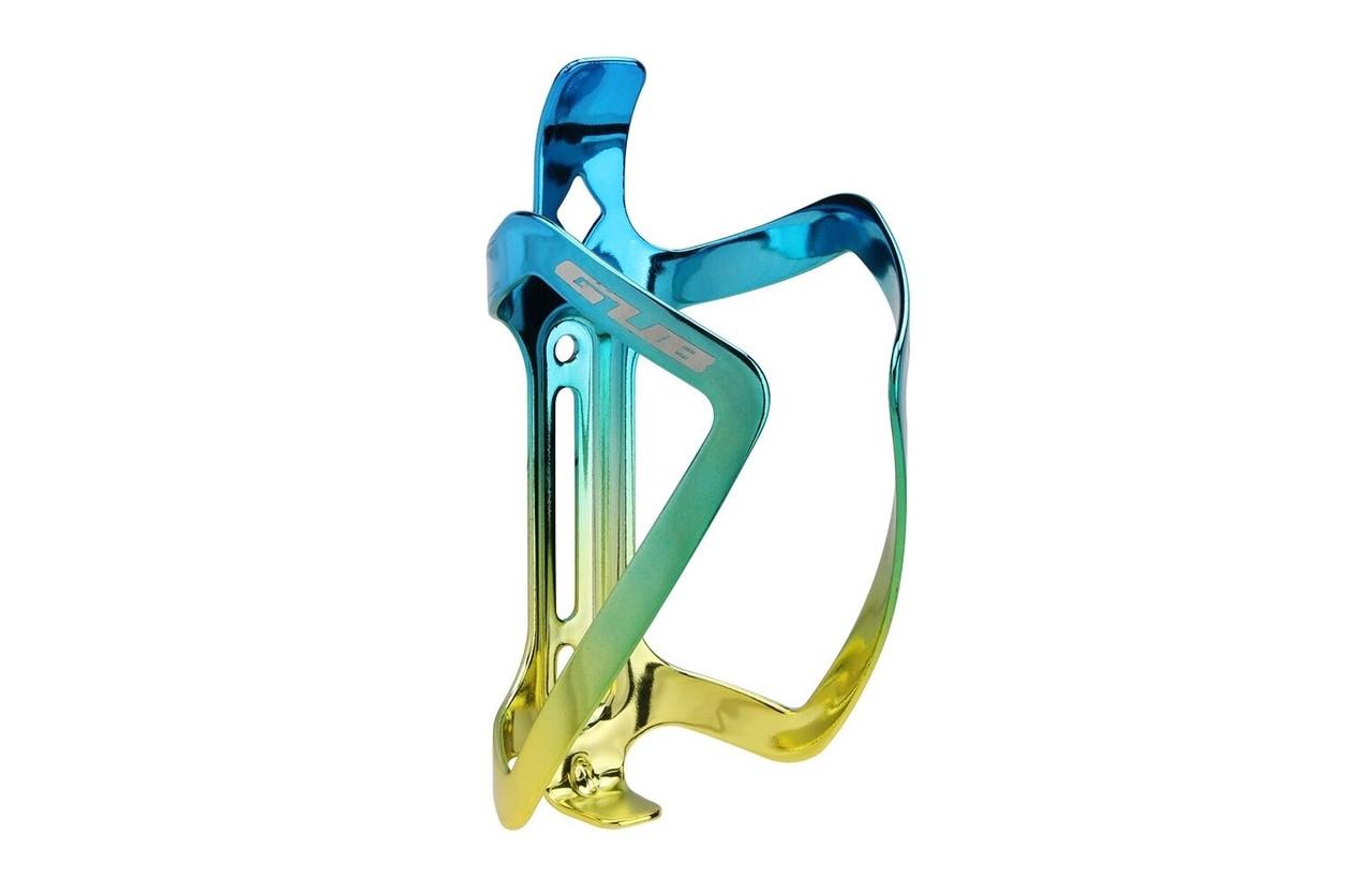 Фляготримач алюмінієвий GUB 08 AL синьо-золотистий