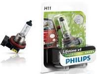 Лампа фары H11 12V 55w PGJ19-2 H LongerLife Ecovision (Philips)