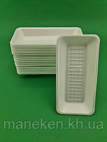 Підкладка (лотки) зі спіненого полістиролу (175*85*20 Т-7-20 (500 шт)