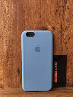 Чехол для iphone 6/6s silicone case цвет Sea blue