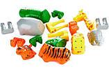 Пазл 3D детский магнитные животные POPULAR Playthings Mix or Match (тигр, крокодил, слон, жираф), фото 9