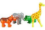 Пазл 3D детский магнитные животные POPULAR Playthings Mix or Match (тигр, крокодил, слон, жираф), фото 10