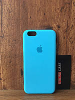 Чехол для iphone 6/6s silicone case цвет Blue