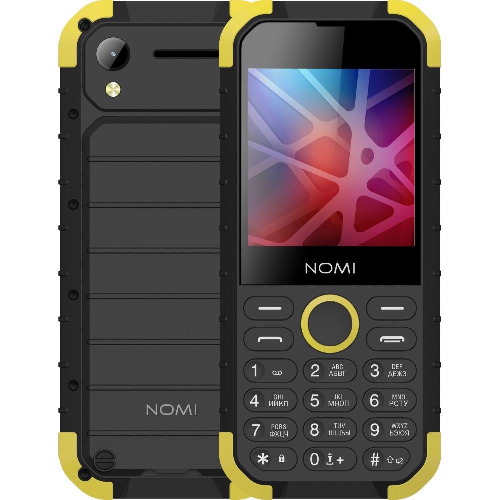 Противоударный Телефон Nomi i285 (2-SIM) Black