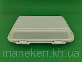 Ланч-бокс з спіненого полістиролу з кришкою (246*150*60) білий HP-10 (250 шт)