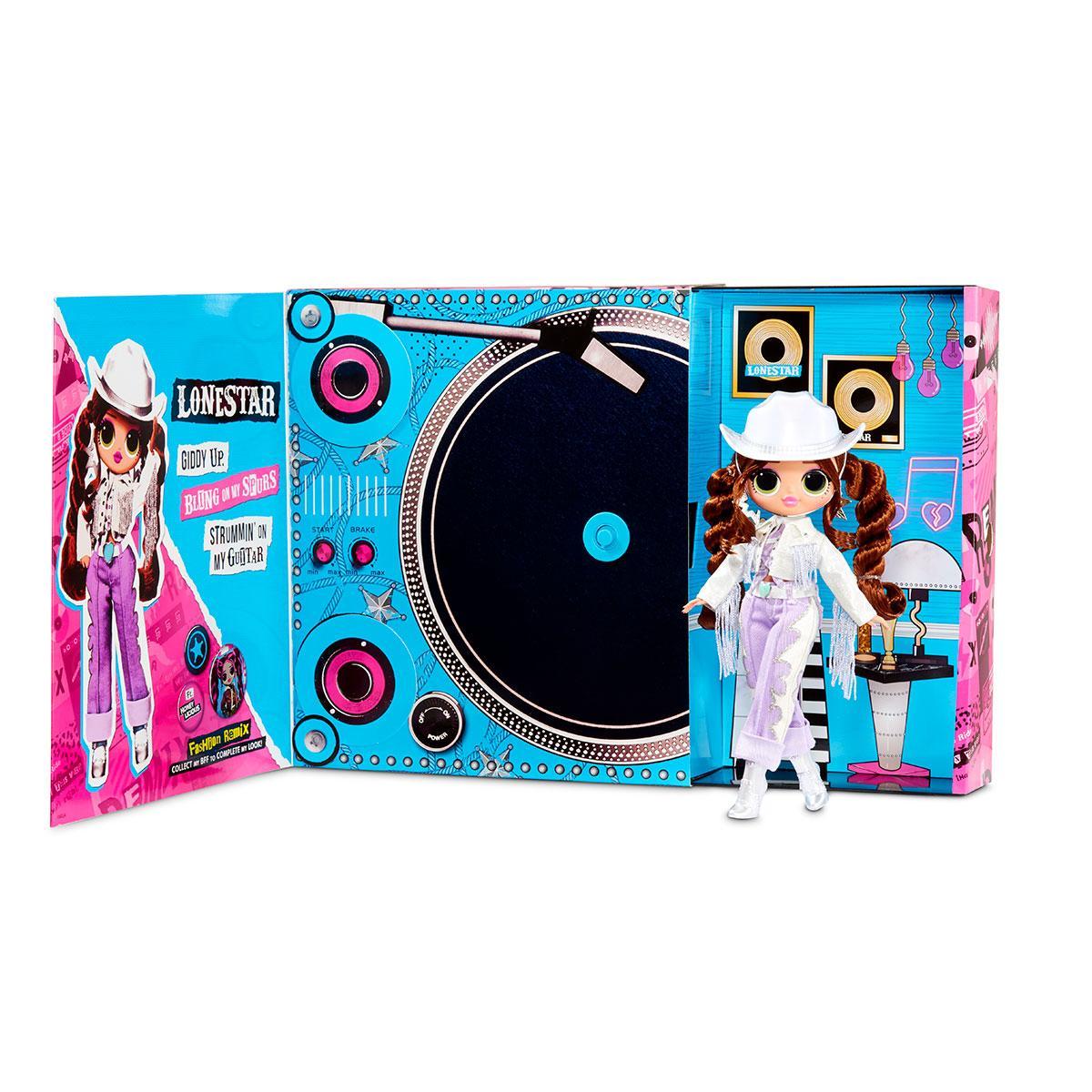 Куколка Лол L.O.L. SURPRISE! серии O.M.G. Remix Леди Кантри (567233)
