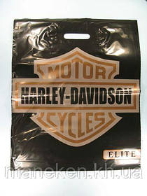 """Пакет с прорезной ручкой(40*50)Elite """"Харлей""""Леоми (50 шт)"""