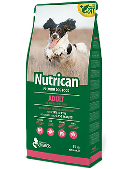 Сухой корм Nutrican Adult для взрослых собак всех пород, 3 кг