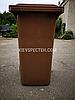 Євроконтейнер пластиковий, Weber V-120 л, коричневий, фото 4