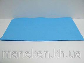 Скатерть п\э (120x200)  голубая (1 шт)