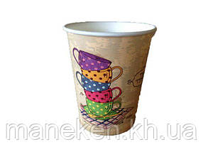 "Стакан для напитков 175мл ""№57 Tea Time"" Маэстро (50 шт)"