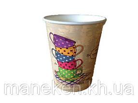 "Стакан для напоїв 175мл ""№57 Tea Time"" Маестро (50 шт)"