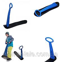 Детский сноуборд Supretto с рулем Синий