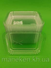 Кришка на контейнер алюмінієвий 100шт На форму артикул SP44L (1 пач.)