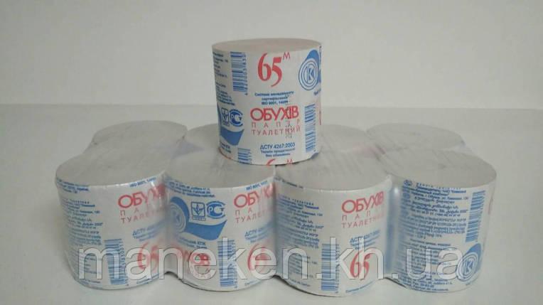Туалетная бумага Обухов (8) (8 рул), фото 2