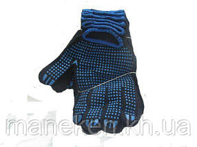 Господарські рукавички щільні чорна (7кл/5н) (10 пар)