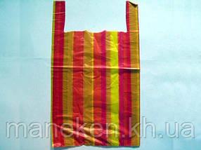 Пакет майка поліетиленова Смуга (50х80) №5 (100 шт)