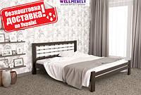 Кровать из дерева Марго двуспальная