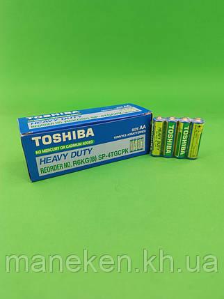 Батарейка Тoshiba (АА R6) (Б-4)) (4 шт), фото 2
