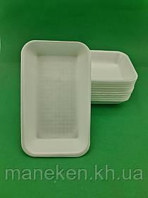 Підкладка (лотки) зі спіненого полістиролу (222*133*33) T-3-33 (200 шт)