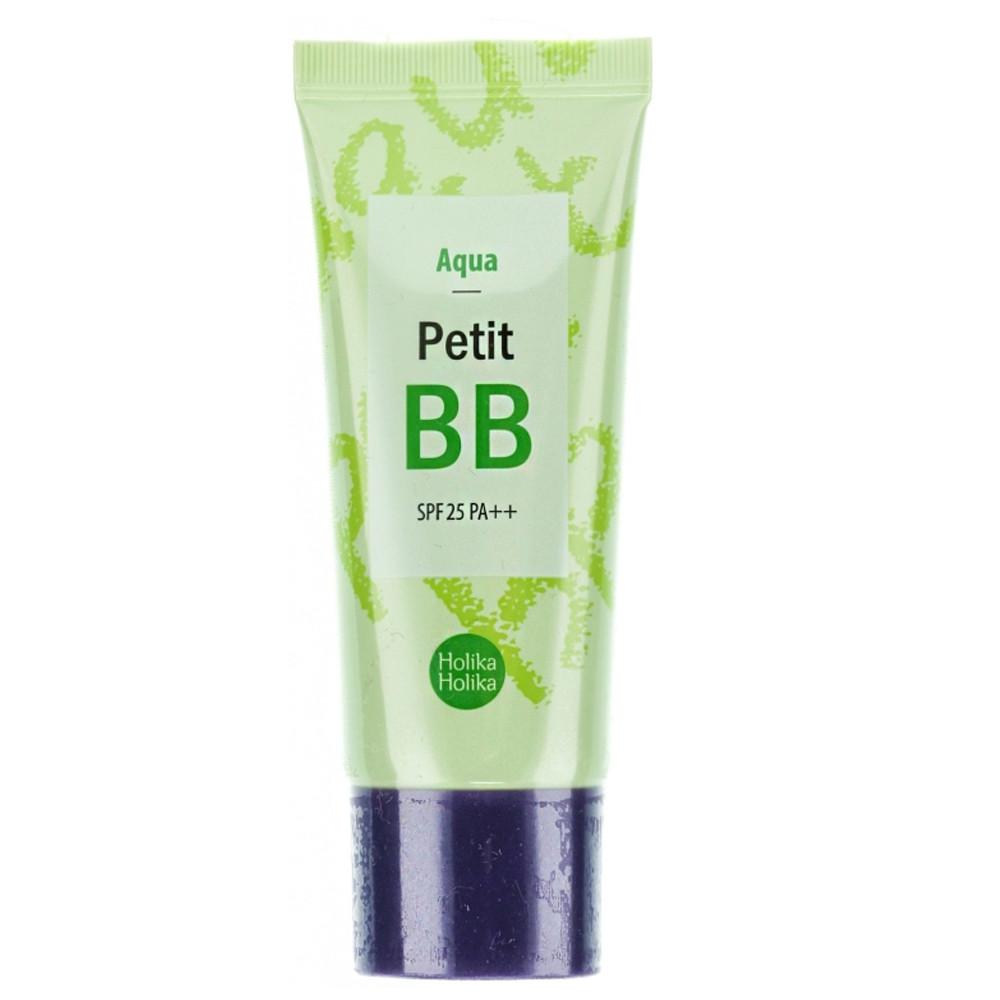 Освежающий BB-крем с экстрактами цветов Holika Holika Petit BB Aqua SPF 25 PA++ 30 мл (8806334355593)