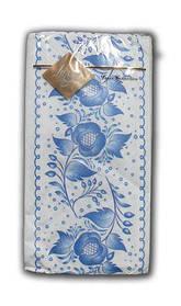 Праздничная салфетка (ЗЗхЗЗ, 10шт) Luxy MINI Цветочный ажур 2003 (1 пач)
