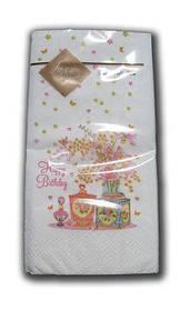 Салфетка декор (ЗЗхЗЗ, 10шт) Luxy MINI Пахнущий букет 2010 (1 пач)