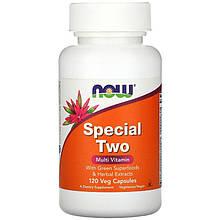 """Мультивітамінний комплекс NOW Foods """"Special Two"""" з рослинними екстрактами (120 капсул)"""