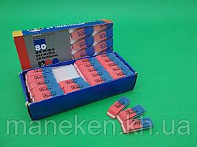 """Гумка для стирання (ластик червоно-синій ) """"NEO line"""" L-1969 (1 шт)"""