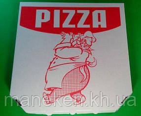 Коробка под пиццу 30см c печатью Pizza (100 шт)