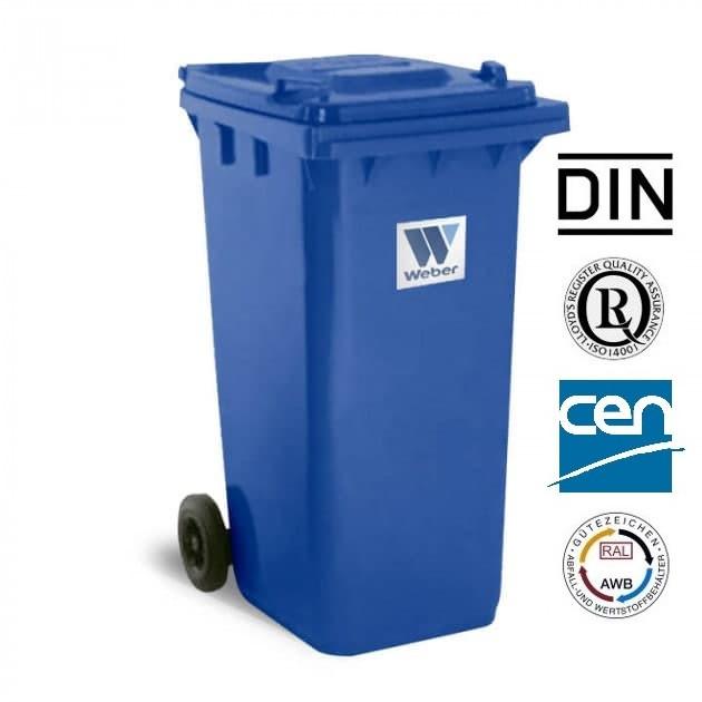 Євроконтейнер пластиковий, Weber V-240 л, синій