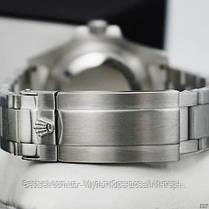 Часы мужские наручные механические с автоподзаводом Rolex Submariner AAA Date Silver-Black реплика ААА класса, фото 3
