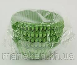 "Тартолетка для чизкейк  ""Круглая зеленая""D45 H26 (100шт)/6а/ (1 уп.), фото 3"