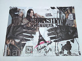 """Пакет с прорезной ручкой (68*50+3)  """"BRASHY couture"""" Леоми (25 шт)"""