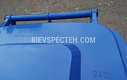 Євроконтейнер пластиковий, Weber V-240 л, синій, фото 3