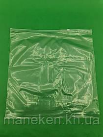 Пакет з замком Zip-lock (Слайдери ) 40х40 (25шт)50мкм (1 пач.)