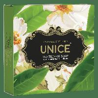 Натуральное мыло с маслом чайного дерева против высыпаний и раздражений на коже 100 г UNICE
