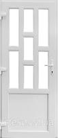 Пластикові вхідні двері Німецька фурнітура ліва