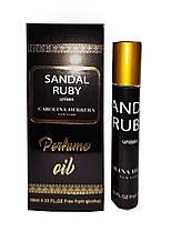 Олійні парфуми Carolina Herrera Sandal Ruby, унісекс