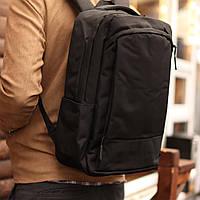 Рюкзак мужской городской спортивный с спинкой Black черный, фото 1