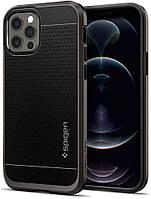 Чохол Spigen для iPhone 12 / 12 Pro - Neo Hybrid, Gunmetal (ACS01711)