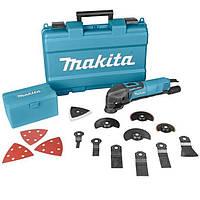 Многофункциональный инструмент Makita TM 3000 CX3, 320 Вт, комплект оснастки
