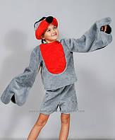 """Карнавальный костюм мех """"Снегирь"""", размер от 4 до 7 лет"""