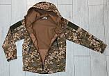 Куртка softshell пиксель ВСУ (ветровлагозащитная). Качество!, фото 3