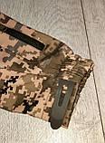 Куртка softshell пиксель ВСУ (ветровлагозащитная). Качество!, фото 6