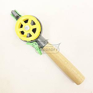Удочка зимняя деревянная ручка с курком